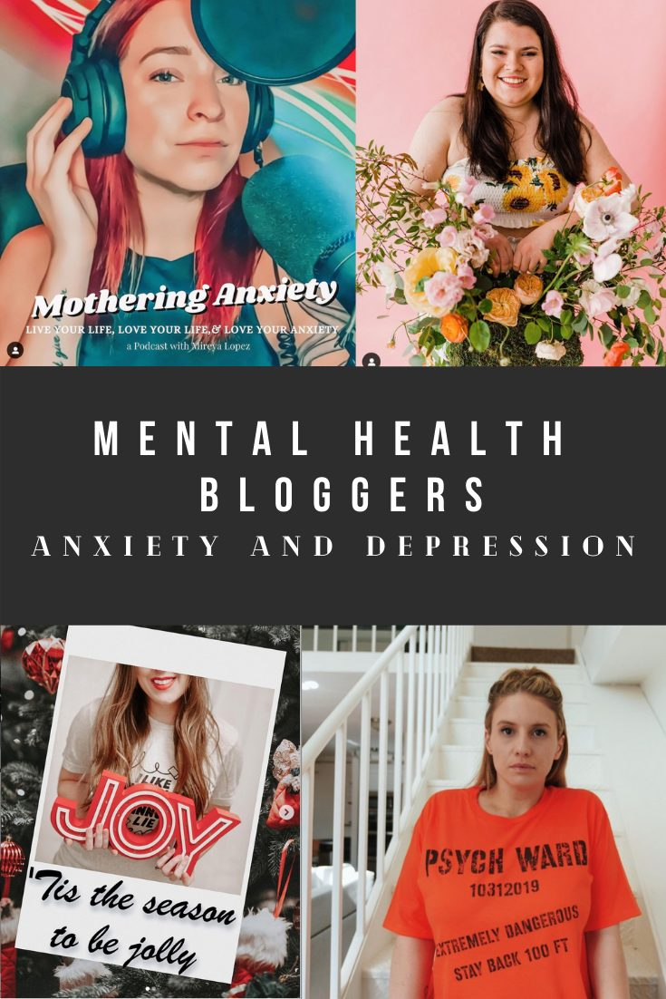 Bloggers with Anxiety and Depression - Mental Health Bloggers