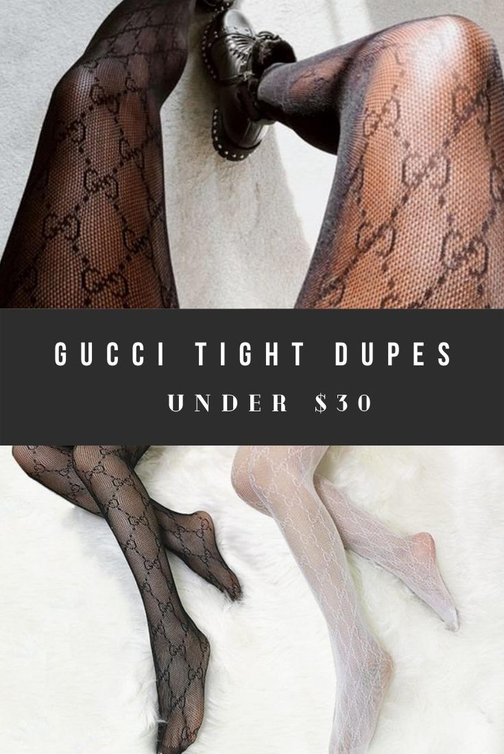 Gucci Tights Dupes and Stockings Look Alikes