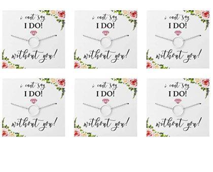 DIY Bridal Proposal Necklaces