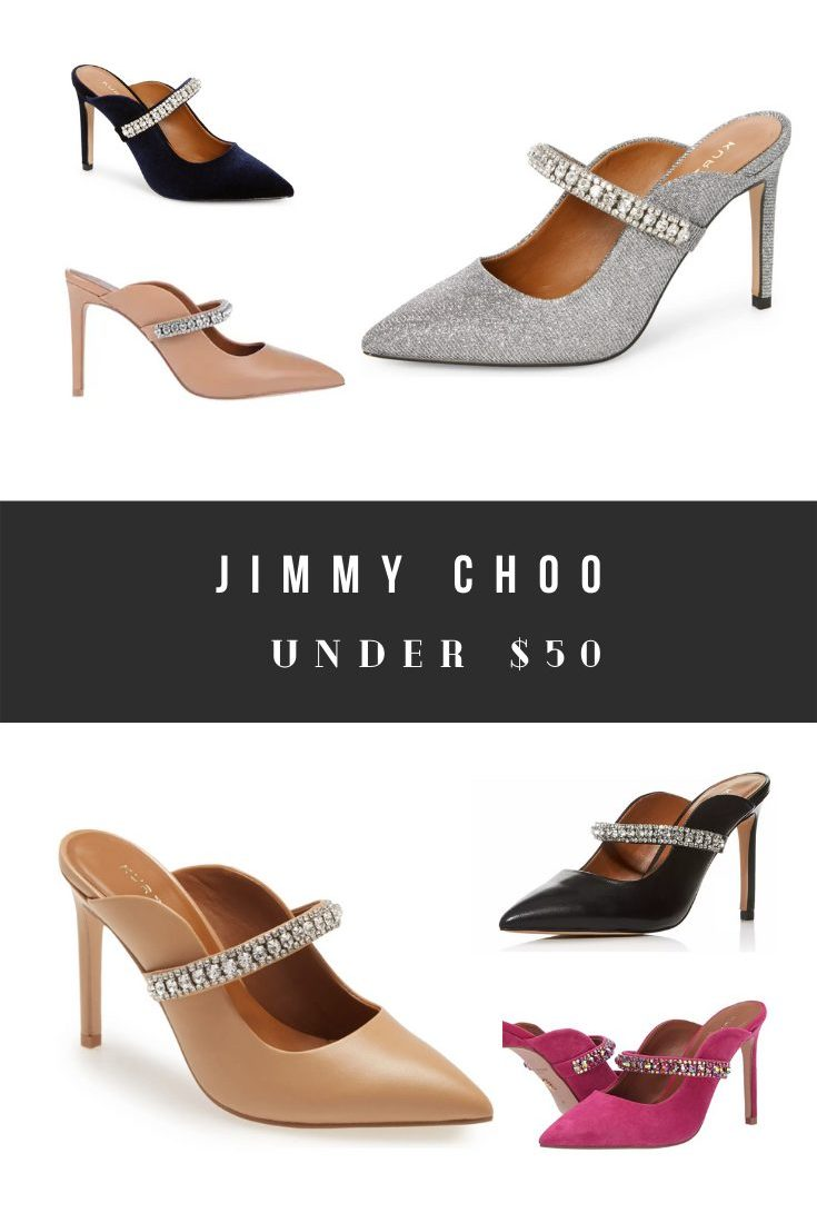 Jimmy Choo Dupes and Comparable Bing Mule Shoe Look Alikes