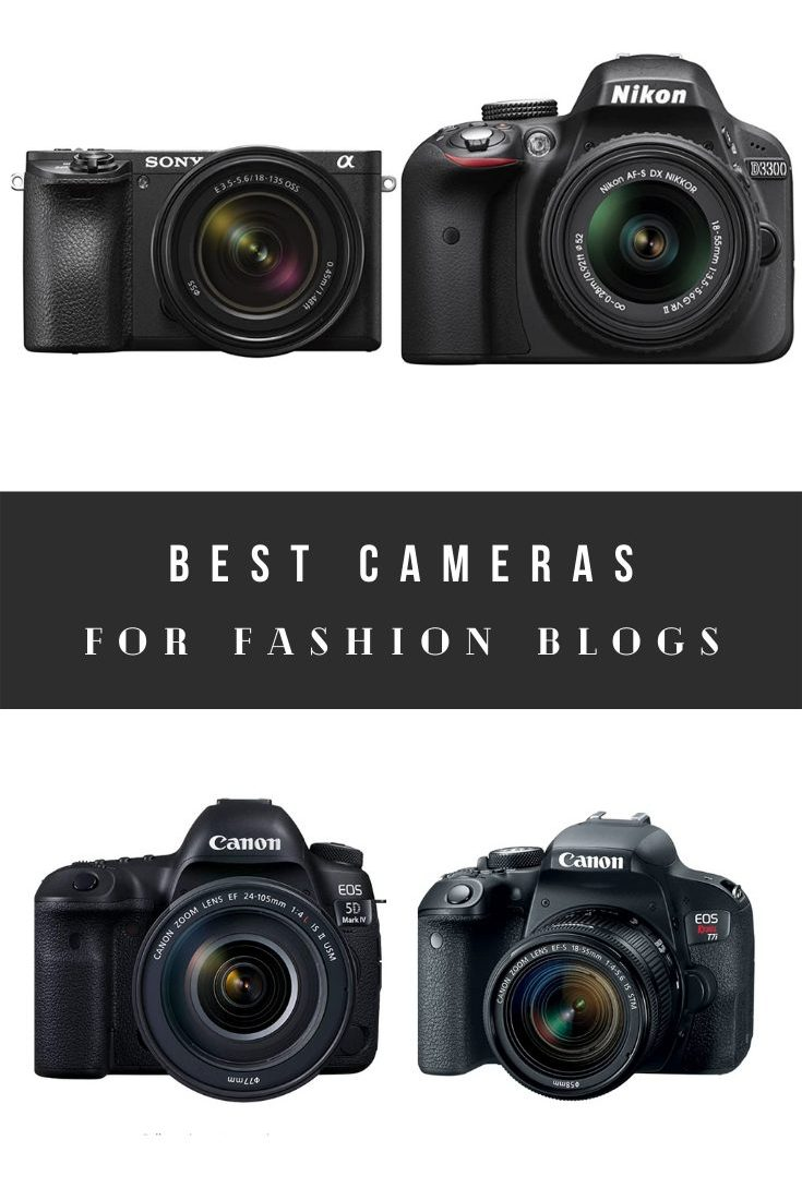 Best Cameras for Fashion Bloggers That Are Cheap