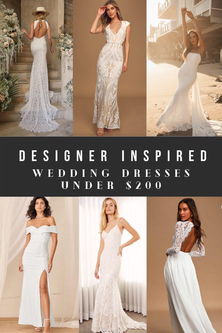 Designer Inspired Wedding Dresses, Look Alikes, and Knock-offs