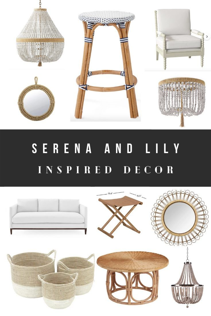 Cheap Serena and Lily Dupes and Home Decor Knock-offs
