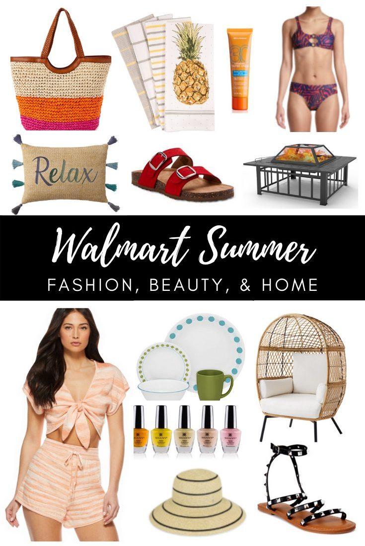 Summer Must-Haves at Walmart 2021