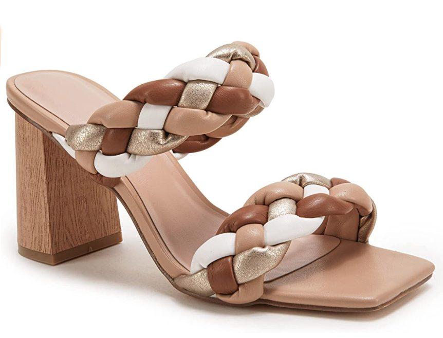 Amazon Braided Heels