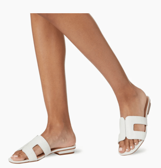White London shoes