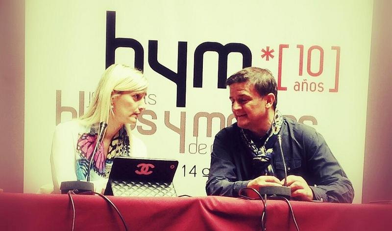 Sonia Blanco y Juan Francisco Delgado en BYMX SPARK13