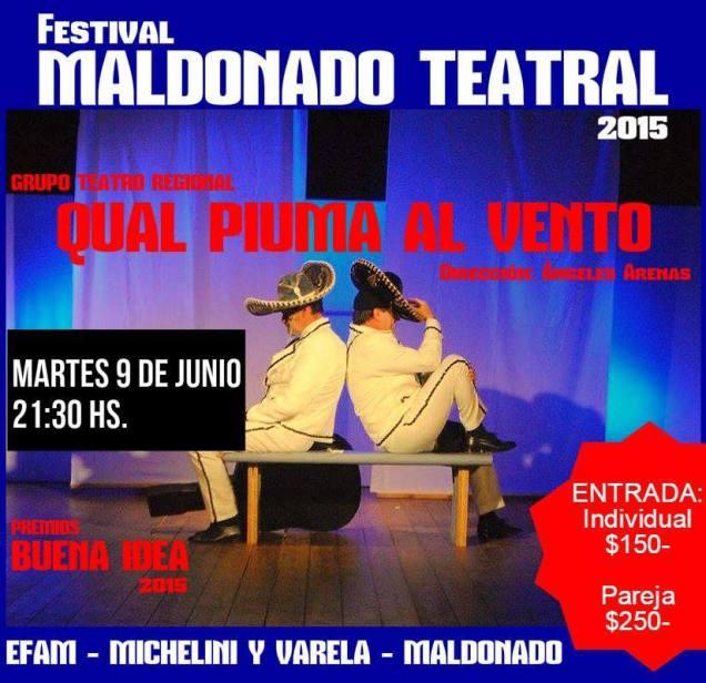(2015) Grupo de Teatro Centro Regional- Maldonado-Uruguay