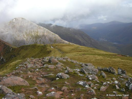 High above the Highlands, Fort William