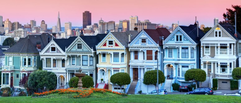 """The """"Painted Ladies"""" of San Francisco"""