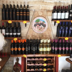 Some of the wines for sale here