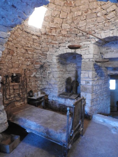 Inside an original trullo - yet to be restored