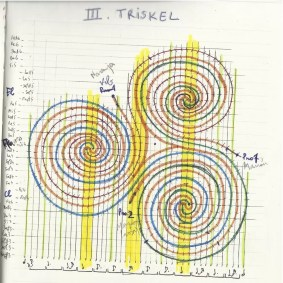 2015'Aug. 'Triskel' for ensemble - basic drawing