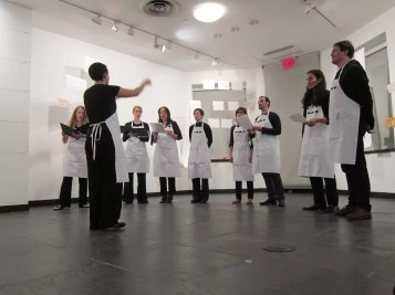 2012'IV'19-25. III MONO+GRAPHIC en el ICNY - 'Tempsiabo' por Heather Laurel y el CoroDelantal - foto 2