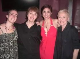 2009'V. Con las cabareteras Norma, Cecilia y Roberta, en NYC