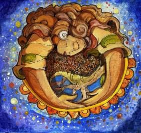 2015'V. Planeta Pel, by Salvadorian artist Renato Mira