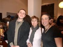 Con Francisco Hoyos y Pepi, tras el concierto.
