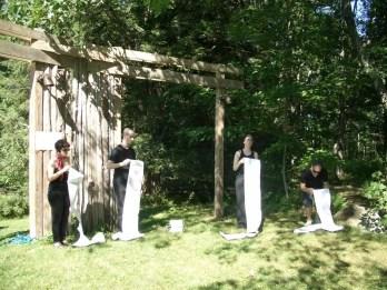 2011'IX. Estreno de '25 Ciudades 50 calles' - Anita, Borja, Megan y Martin en 'Nueva York 2010 - Invierno Oblicuo'