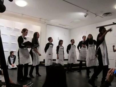 2012'IV'19. III MONO+GRAPHIC en el ICNY - 'Cantar' por Blacki Black (rap), Raymond Sicam (beatbok) y el CoroDelantal