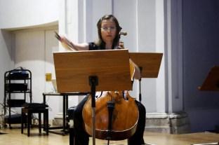 Laura Giménez at the premiere