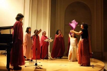 2010'VI'26. Concierto monográfico en Alcalá - LBaila, con Myriam, Camila, Celia, Laura, Pili, Marián, Sara, Estela, y Noe danzando