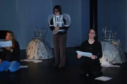 2011'IV'24. 'Triangle' en el NYU Black Box Theater - ensayo