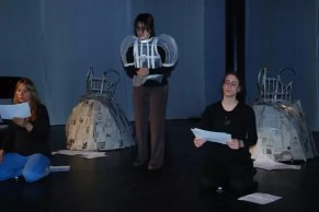 2011'IV'24. 'Triangle' at NYU Black Box Theater - rehearsal 2