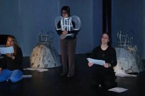 2011'IV'24. 'Triangle' at NYU Black Box Theater - rehearsal 2