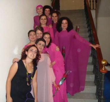 2008'X'23. Estreno de 'LBaila'. Con las chicas