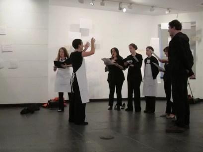 2012'IV'19. III MONO+GRAPHIC en el ICNY - 'Tempsiabo' por Heather Laurel y el CoroDelantal - foto 1