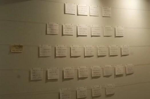 2012'IV'19-25. III MONO+GRAPHIC en el ICNY - Partitura de 'Cello Mantra'