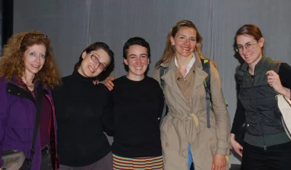 2011'IV'24. 'Triangle' en el NYU Black Box Theater - foto de equipo