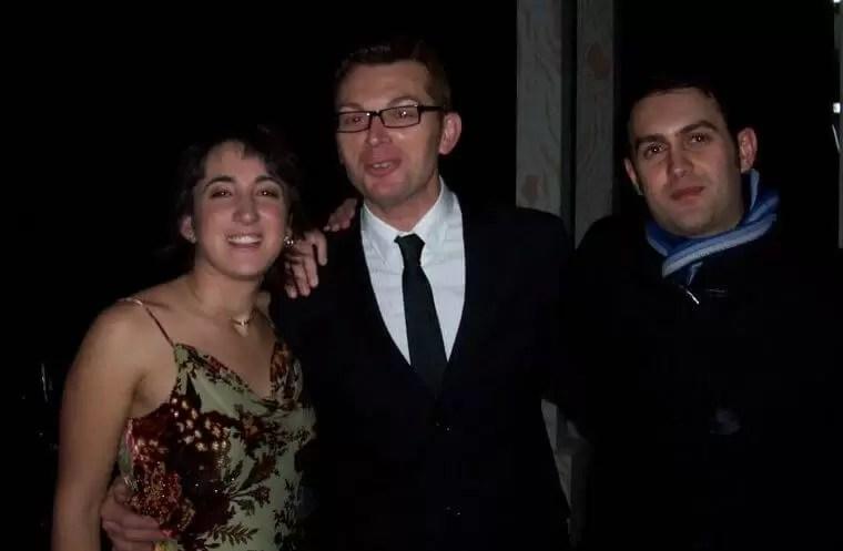2007'XII. Almansa. Estreno de La mitad del camino en el Teatro Regio - con José y Tomás