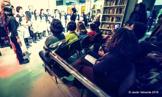 2016'II'26. Madrid. Bueno por conocer.8 - 'Contrapunto de vocales' de Sonia Megías. Foto: Javier Valverde