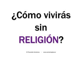 2013'II'28. Madrid. III Procesión armónica - pegatina RELIGIÓN