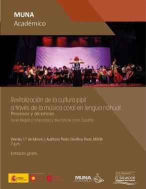 2017'II'17. San Salvador. Conversatorio en el MUNA - cartel
