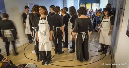 2015'XII'4. Madrid. Bueno por conocer.7 - estreno de 'Wind horse' de Pauline Oliveros - 2. Foto: Javier Valverde