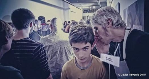2015'XII'4. Madrid. Bueno por conocer.7 - 'Gallero al oído' de Sonia Megías - 1. Foto: Javier Valverde