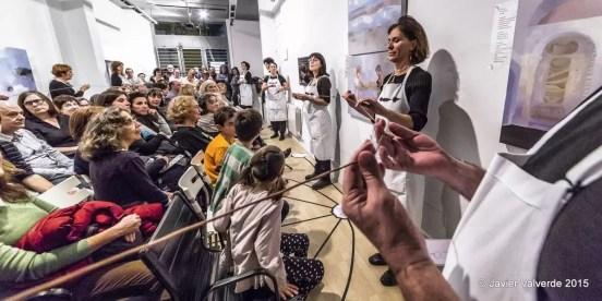 2015'XII'4. Madrid. Bueno por conocer.7 - 'The time in a thread' de Sonia Megías - 1. Foto: Javier Valverde