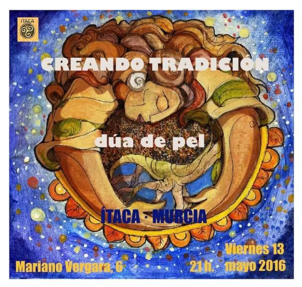 2016'V'13. Murcia. Dúa de Pel en la sala Ítaca - cartel