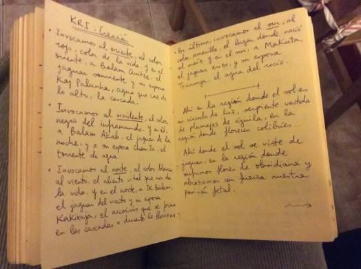 2015'I'23. Guadalajara. Estreno de 'KR 1: Creación' - texto - 2