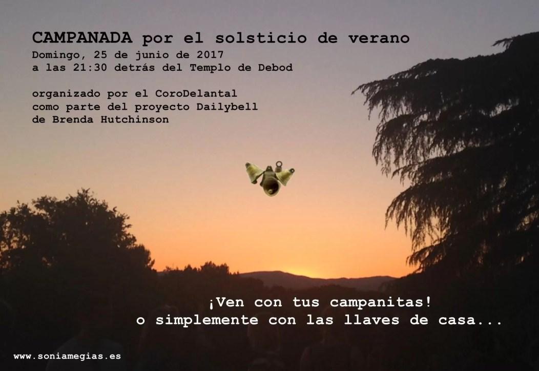 2017'VI'25. Templo de Debod. Campanada - flyer