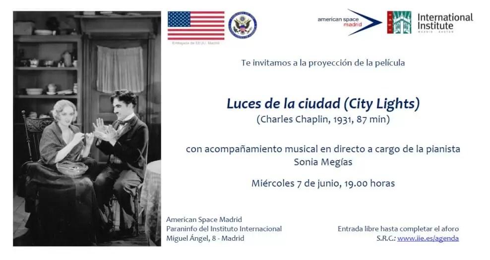 2017'VI'7. Impro sobre 'Luces de la ciudad' de Chaplin en el American Space