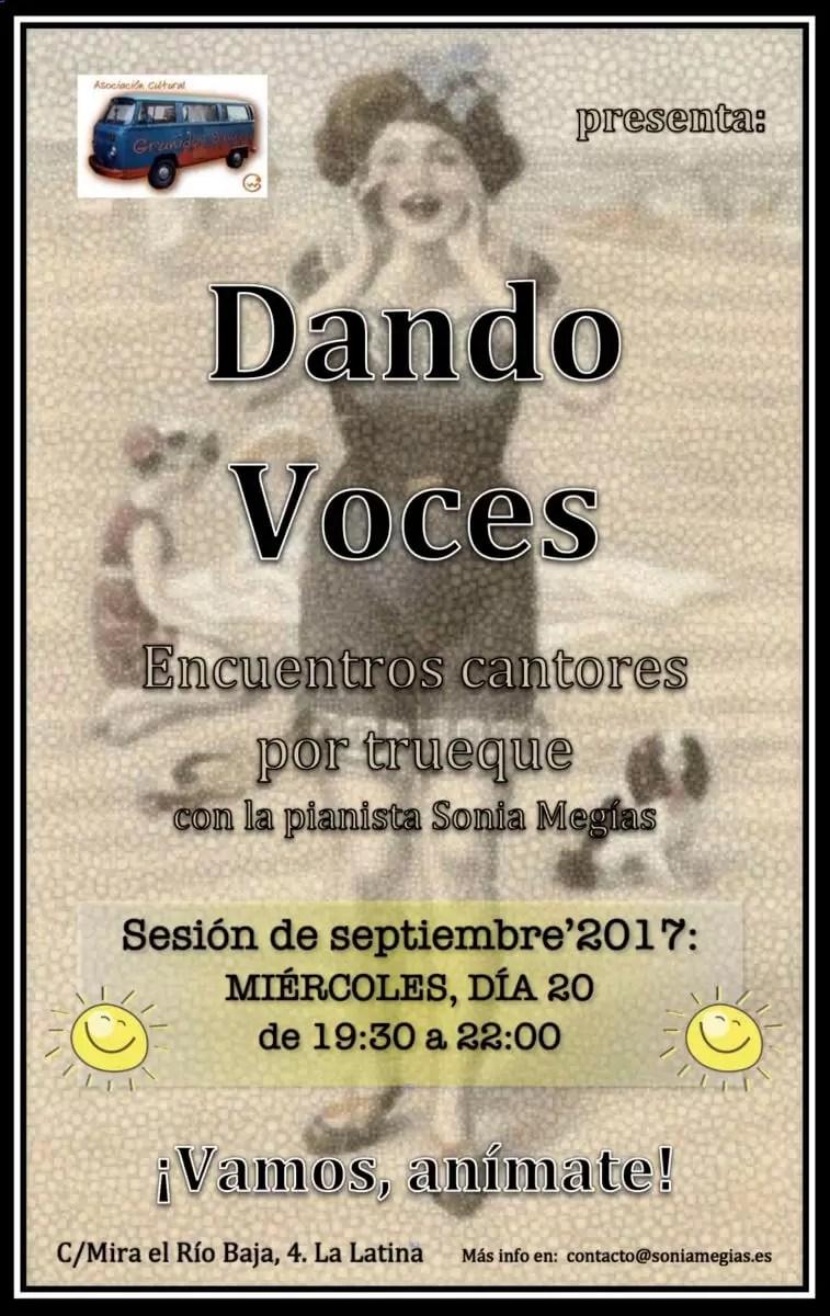 Dando Voces - Septiembre'2017