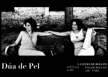 2017'X'4. Buenos Aires. Dúa de Pel en La Dama de Bollini - cartel
