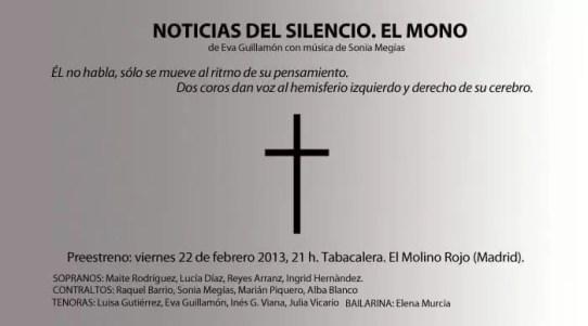 2013'II. El Mono en la Tabacalera (Madrid) - cartel