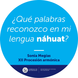 2017'II'19. XII Procesión Armónica - pegatina náhuat