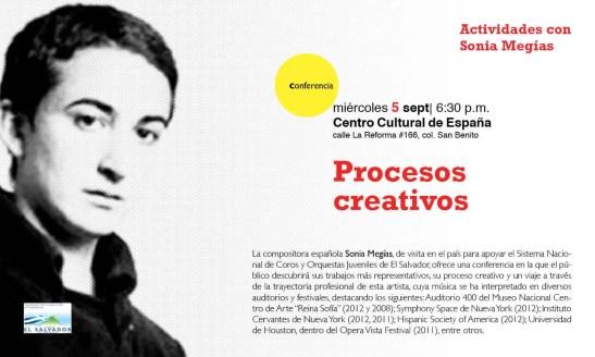 2012'IX'5. Charla sobre mis procesos creativos - cartel