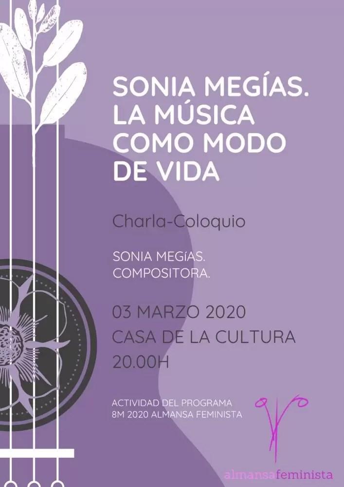 Charla Almansa - cartel