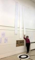 Exposición montada a falta de las cartelas